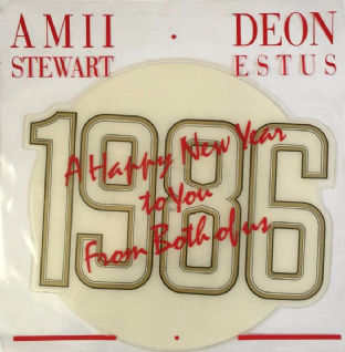"Amii Stewart & Deon Estus ‎- My Guy My Girl (7"") (Shaped Picture Disc) (VG++/EX-)"